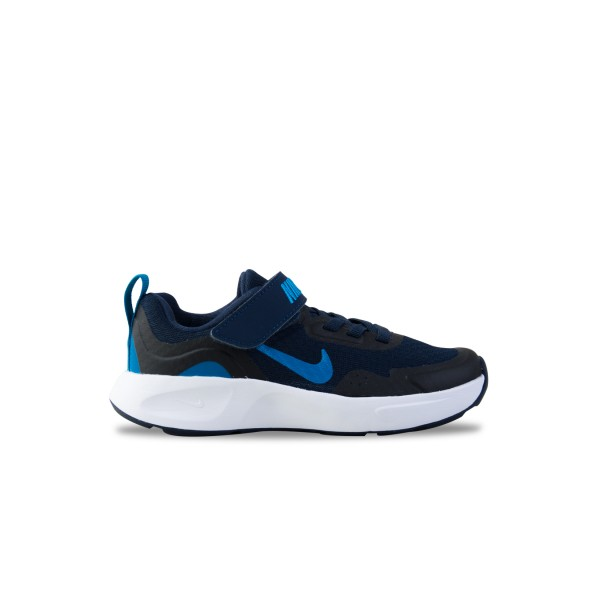 Nike Wearallday Παιδικο Παπουτσι Μπλε