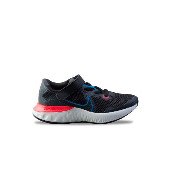Nike Renew Run Black - Blue
