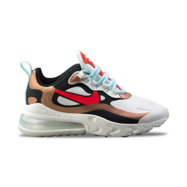 Nike Air Max 270 React White - Gold
