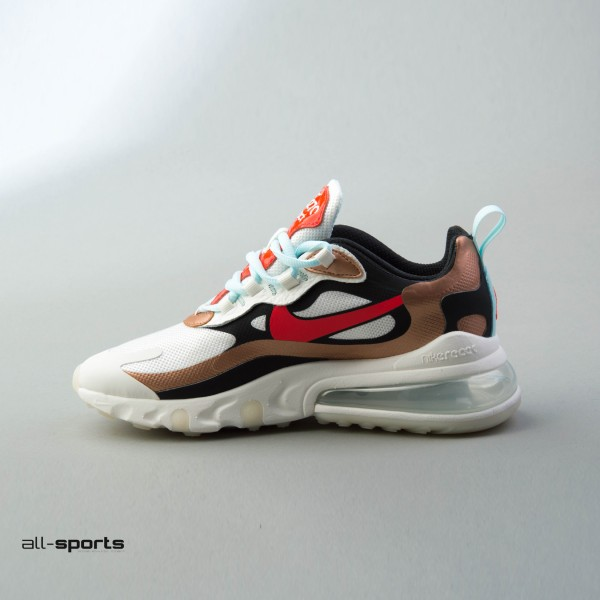 Nike Air Max 270 React White - Gold