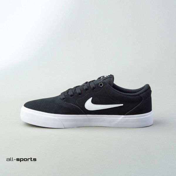 Nike Sb Suede Solarsoft Black - White