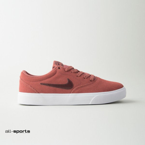 Nike Sb Suede Solarsoft Claystone Red