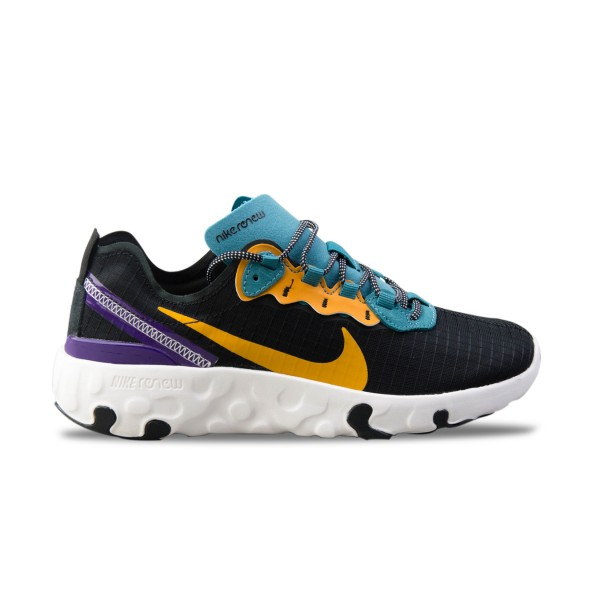 Nike Renew Element 55 Prm Gs Black - Yellow - Purple