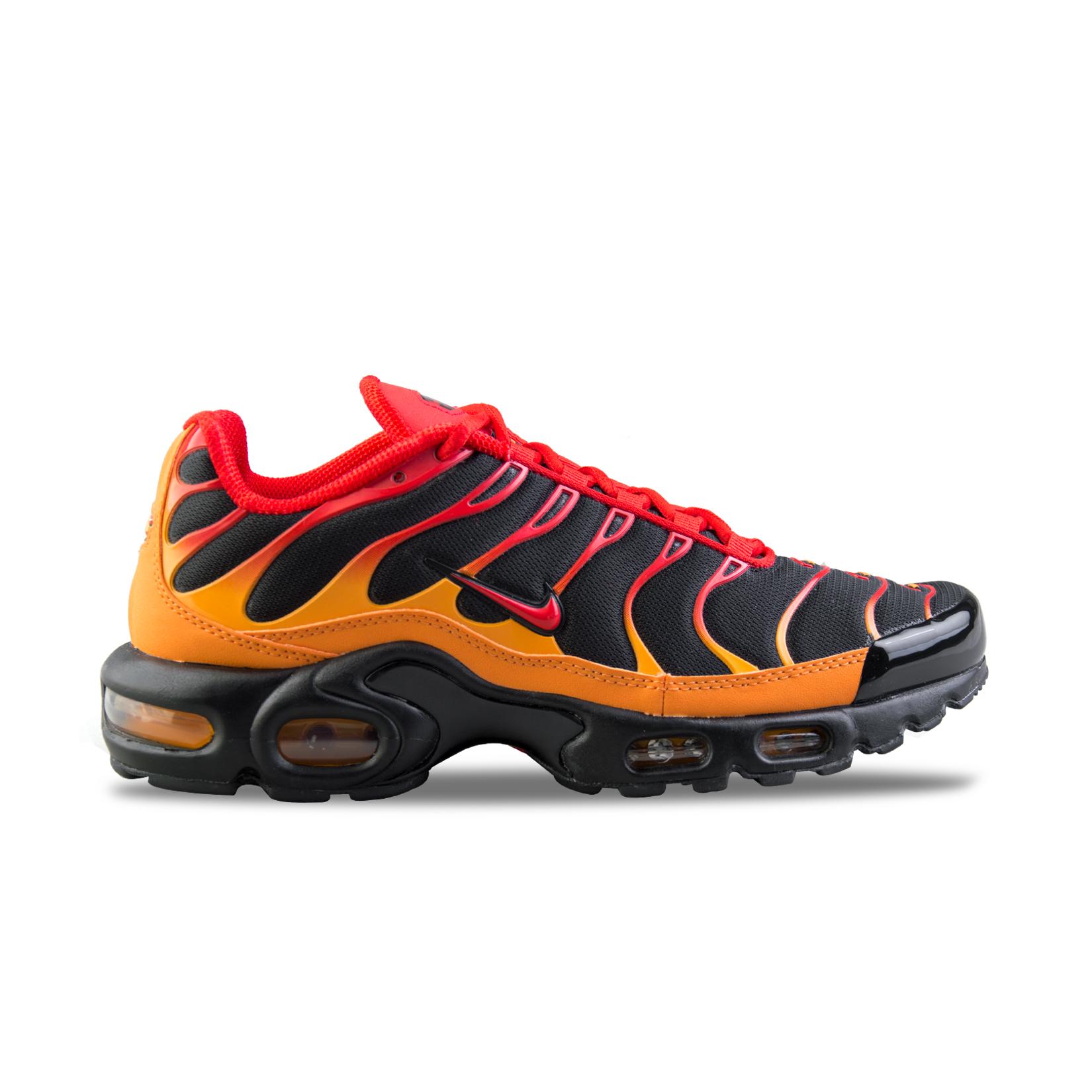 Nike Air Max Plus Orange - Black