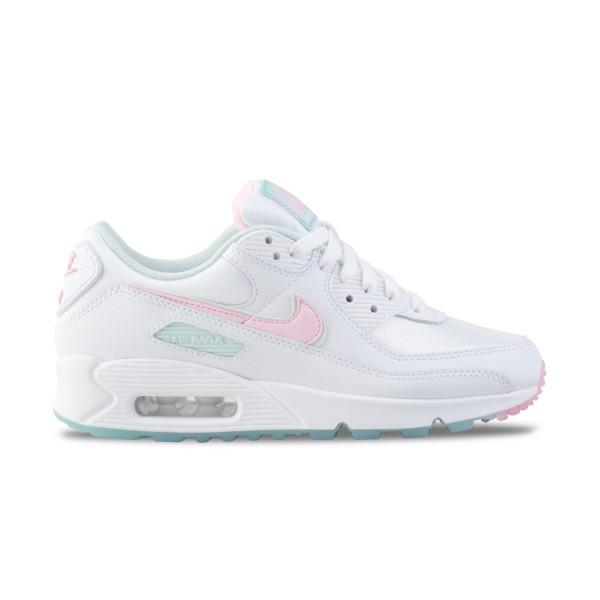 Nike Air Max 90 W White - Pink