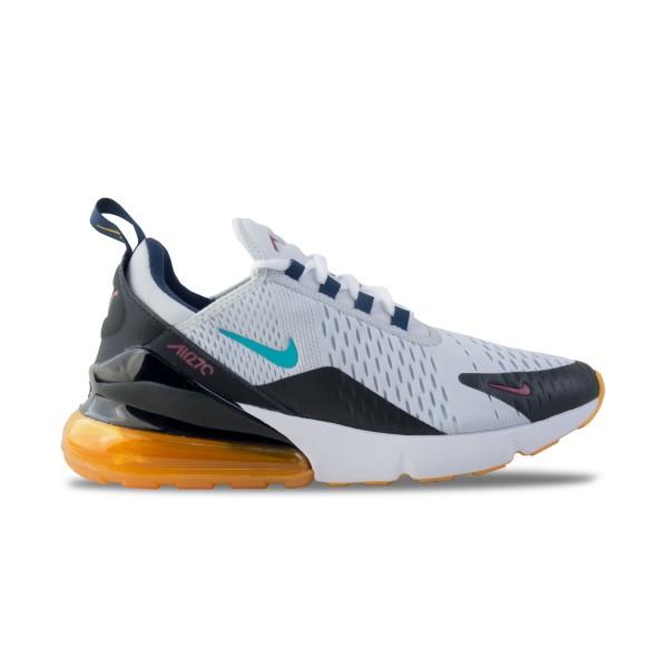Nike Air Max 270 White - Orange