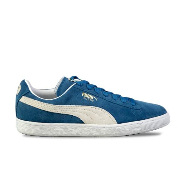 Puma Suede Classic+ Blue - White