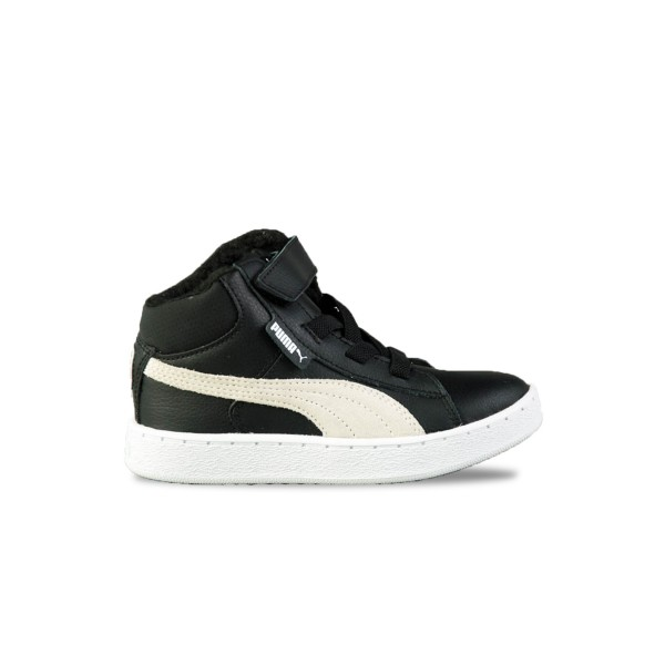 Puma 1948 Mid Kids High Tops Black - White