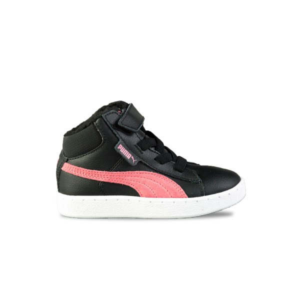 Puma 1948 Mid Kids High Tops Black - Rapture Rose