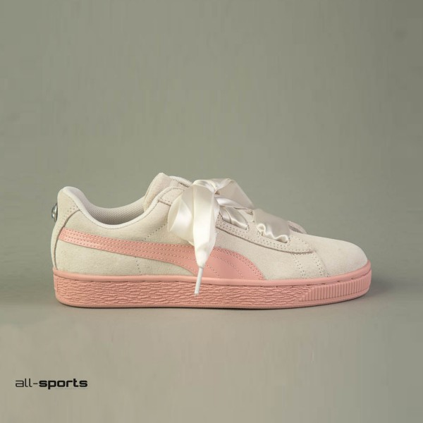 Puma Suede Heart Jewel Beige - Peach