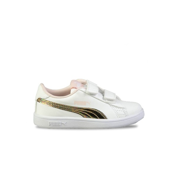 Puma Smash V2 Mermaid V PS White - Pearl