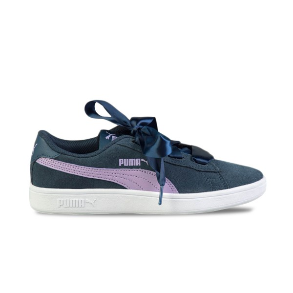 Puma Smash V2 Ribbon Blue - Purple