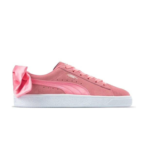 Puma Suede Bow Shell Pink