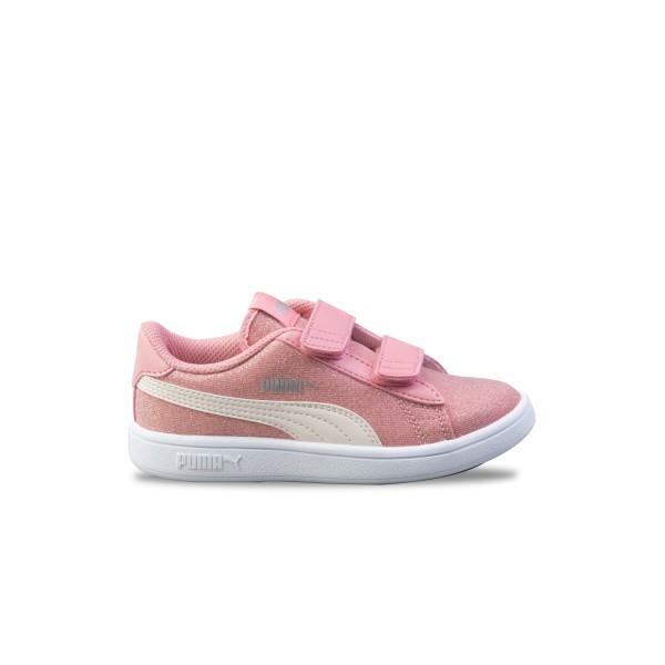 Puma Smash V2 Glitz K Pink