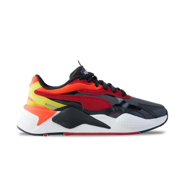 Puma RS-X3 Neon Flame Black - Red