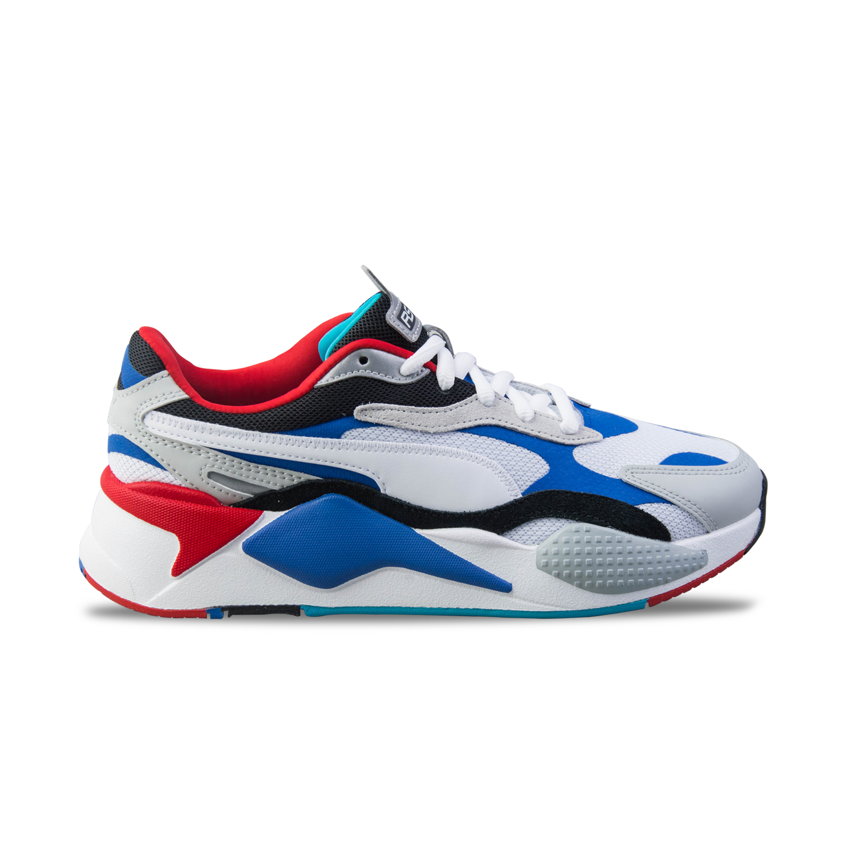 Puma RS-X3 Puzzle White - Blue - Red