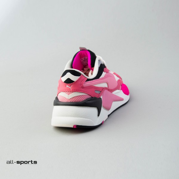 Puma RS-X3 Puzzle White - Pink