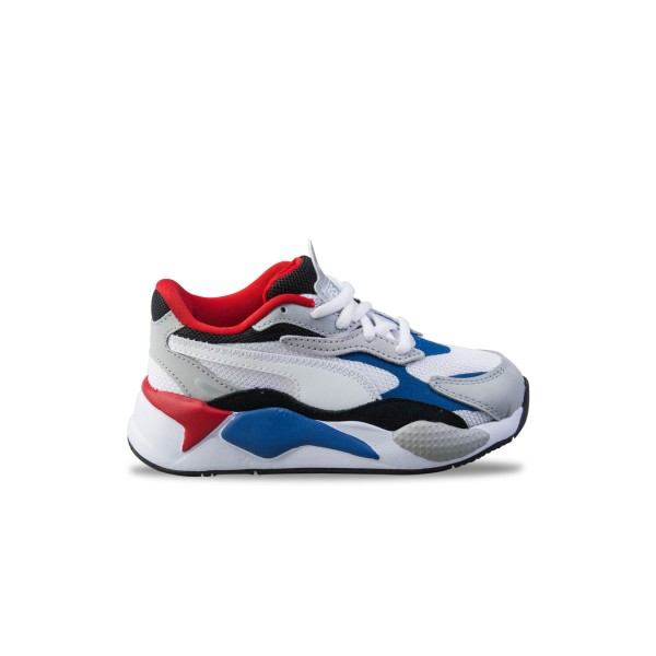Puma RS-X3 Puzzle PS White - Blue - Red