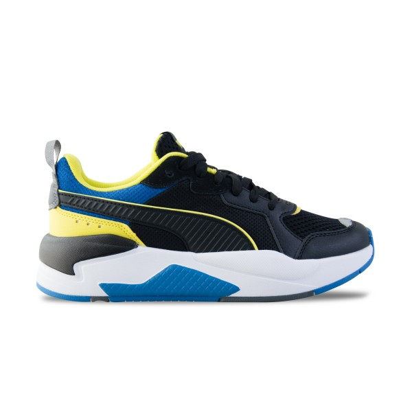 Puma X-Ray Lite Trainers JR Black -  Blue