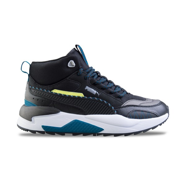 Puma x Ray 2 Square Mid Black - Blue
