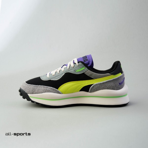 Puma Style Rider Neo Archive Grey - Yellow