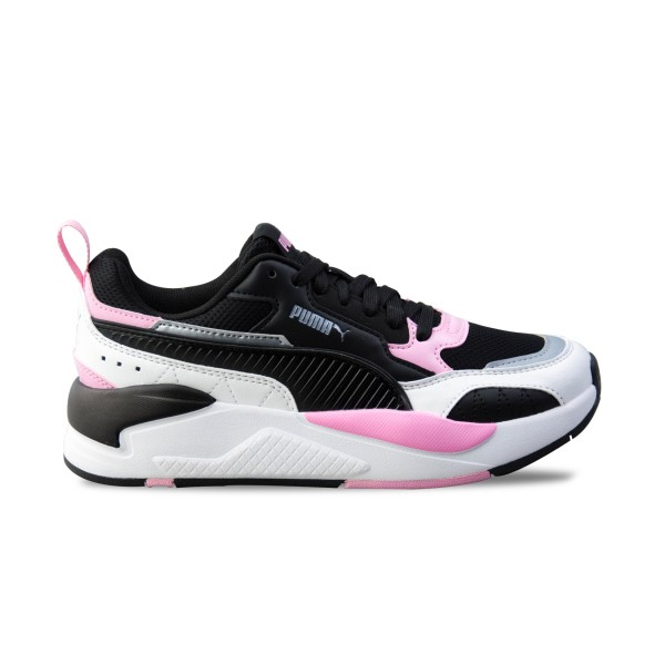 Puma X-Ray 2 Square Trainers W Black - White - Pink