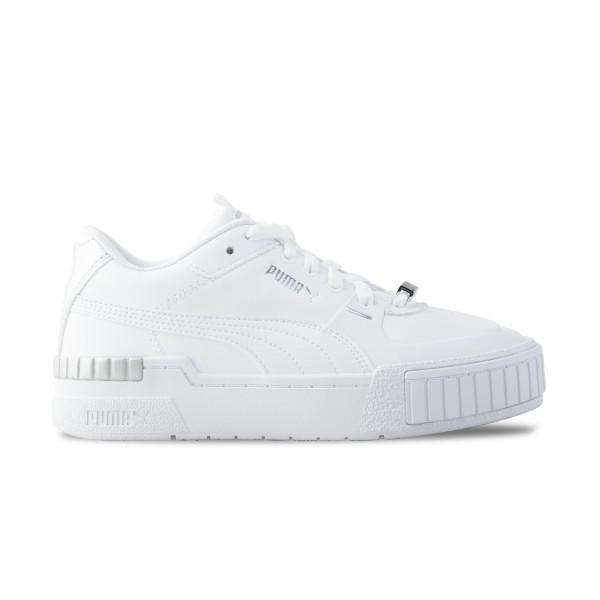 Puma Cali Sport Metallic White