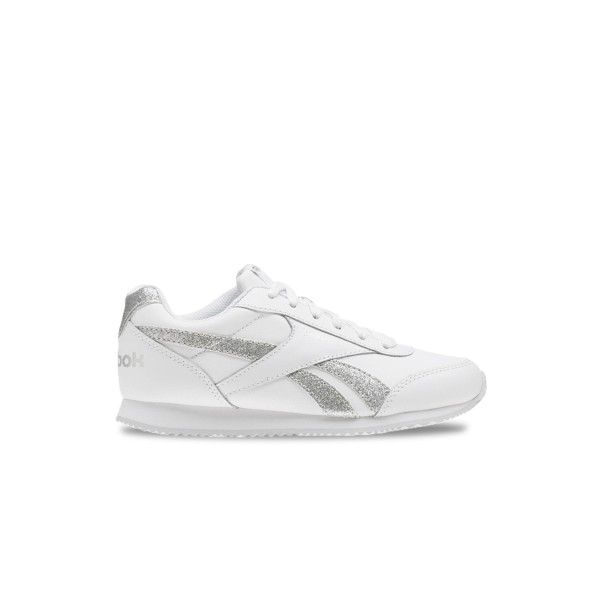 Reebok Royal Cljog 2 White - Silver Sparkle