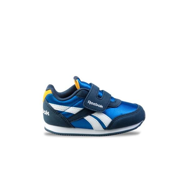 Reebok Royal Classic Jogger 2 Blue - Yellow