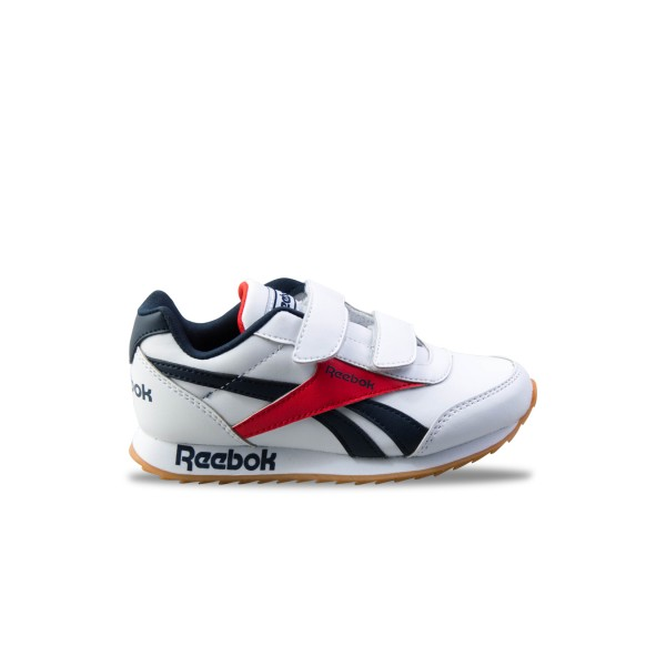 Reebok Royal Cljog 2 White - Blue - Red
