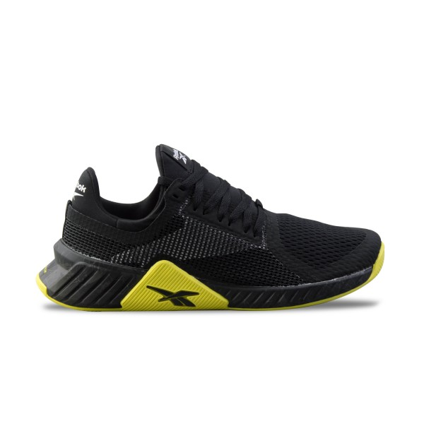 Reebok Flashfilm Trainers Black - Yellow