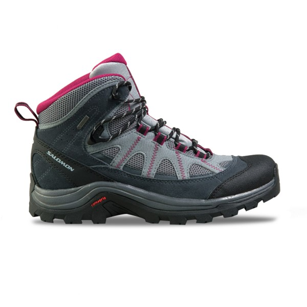 Salomon Authentic Ltr GoreTex Grey - Purple
