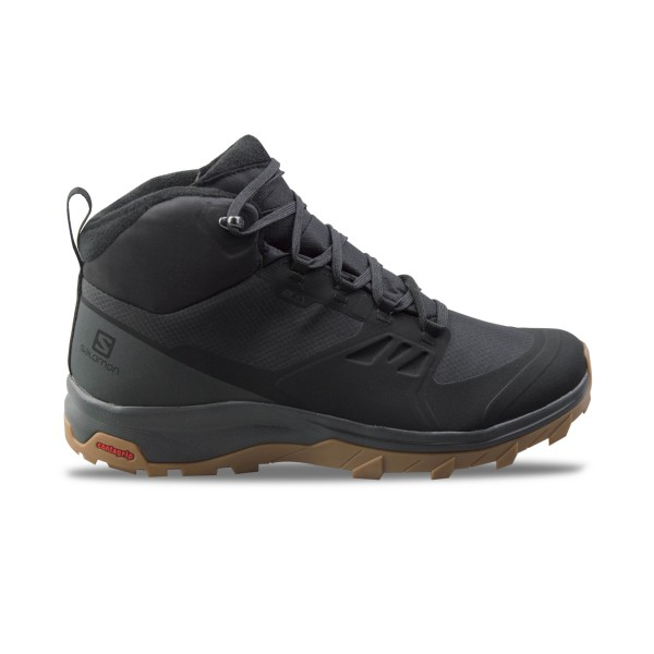 Salomon Outsnap ClimaShield M Waterproof Black - Grey