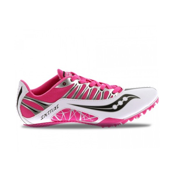 Saucony Racing Spitfire White - Pink