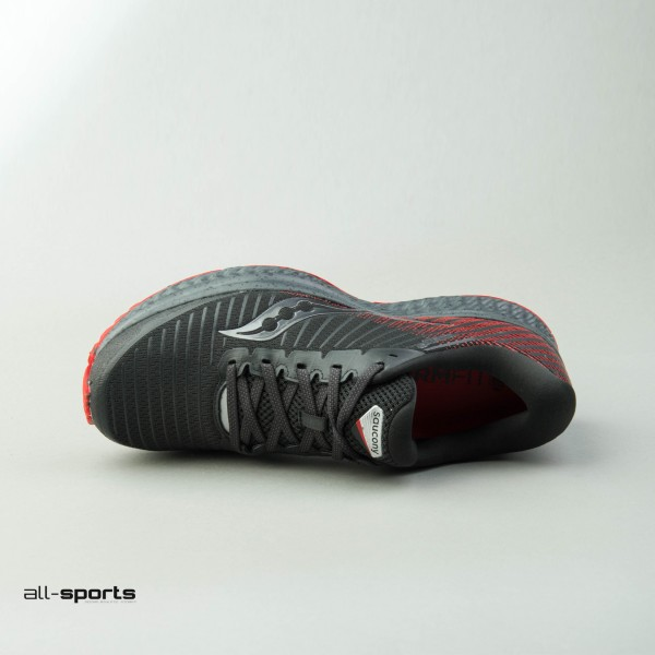 Saucony Guide 13 Trail Black - Red
