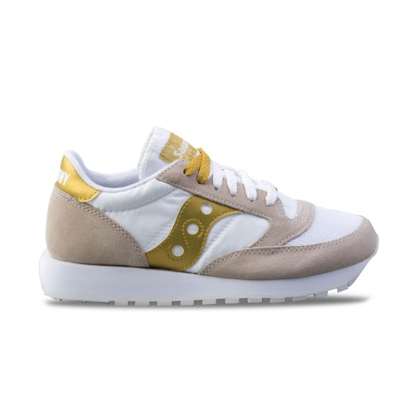 Saucony Jazz Originals Vintage W Beige - Gold
