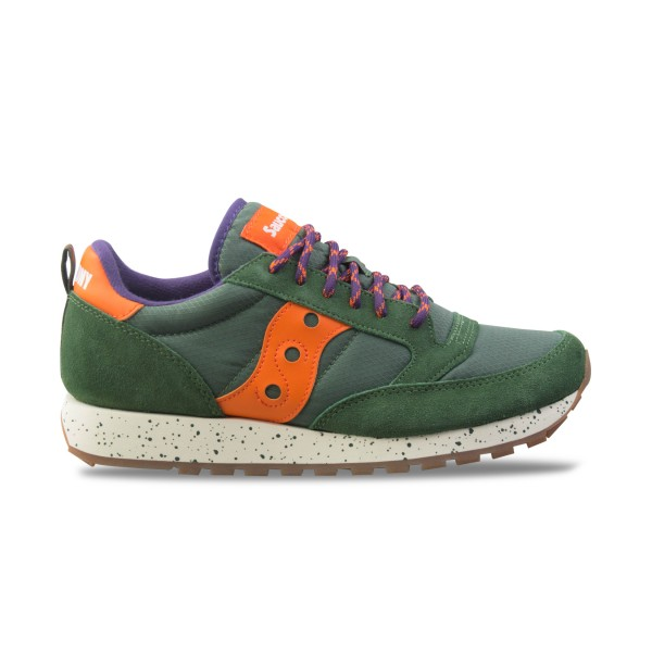"Saucony Originals Jazz Vintage ""Climbing"" Green - Orange"