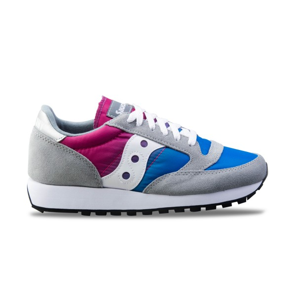 Saucony Jazz Original Vintage Grey - Blue - Pink