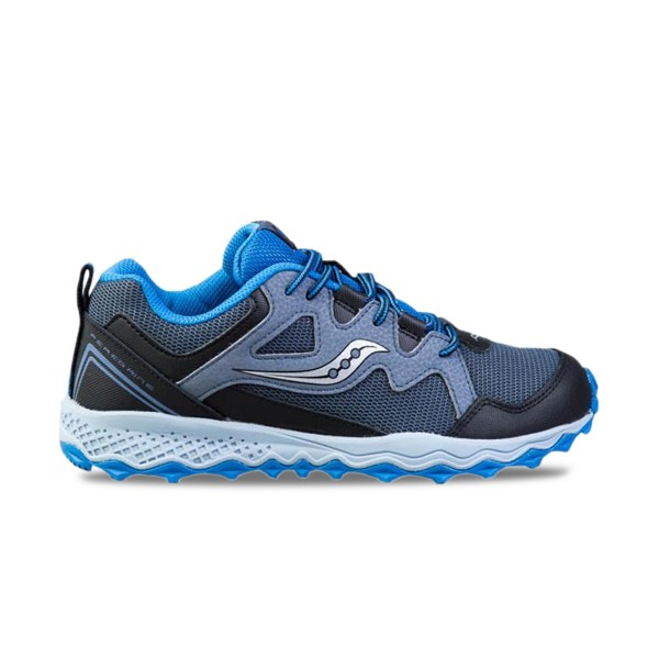 Saucony Peregrine Shield 2 Waterproof Grey - Blue