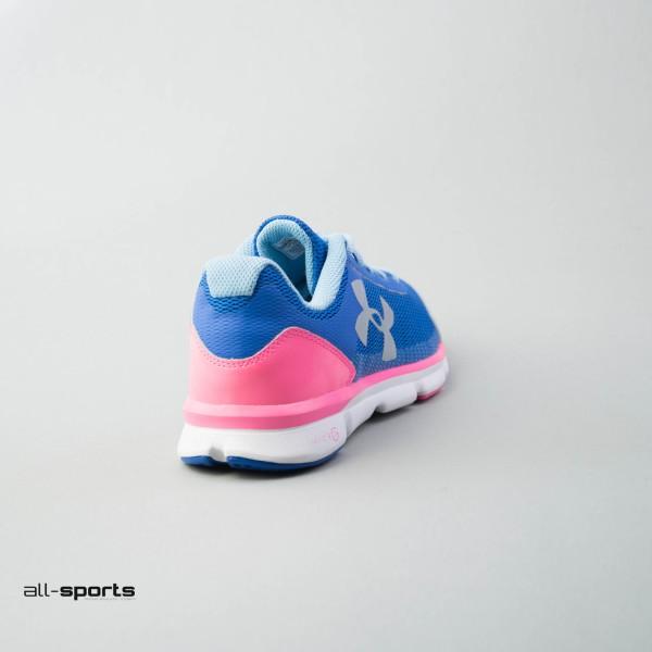 Under ArmourMicro G Speed Swift Blue - Pink