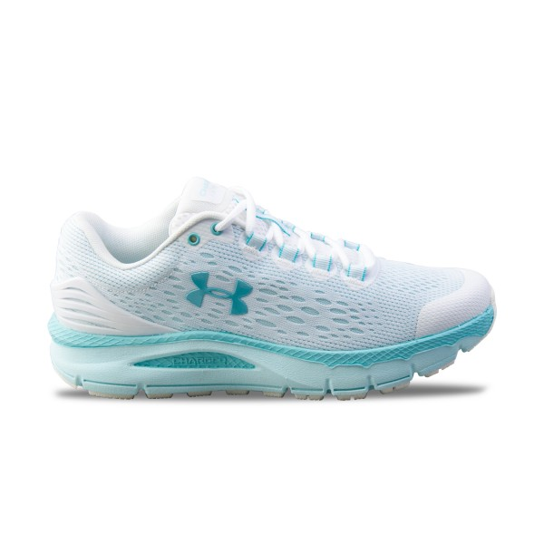 Under Armour Charge Intake 4  White - Blue