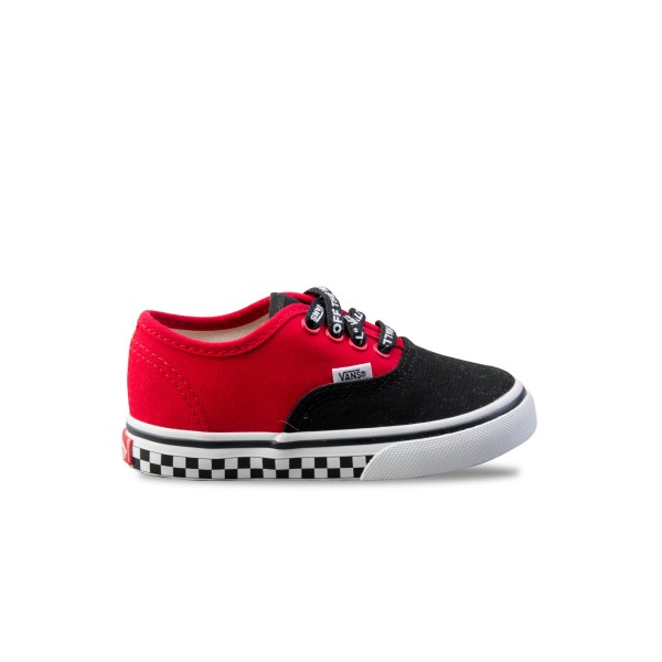 Vans TD Authentic Red - Black