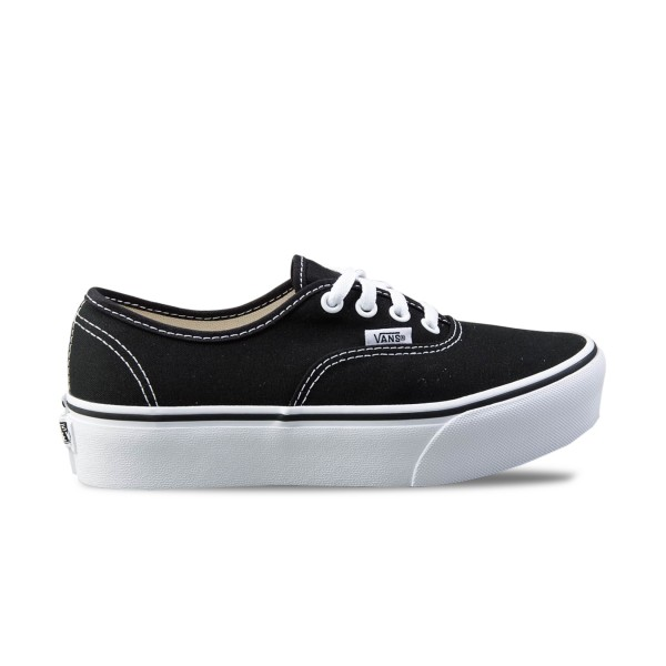 Vans Authentic Platform 2.0 Black - White