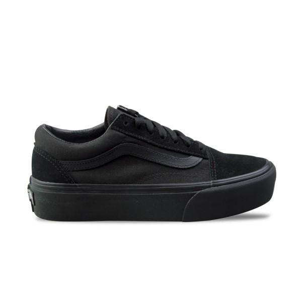 Vans Old Skool Platform Black