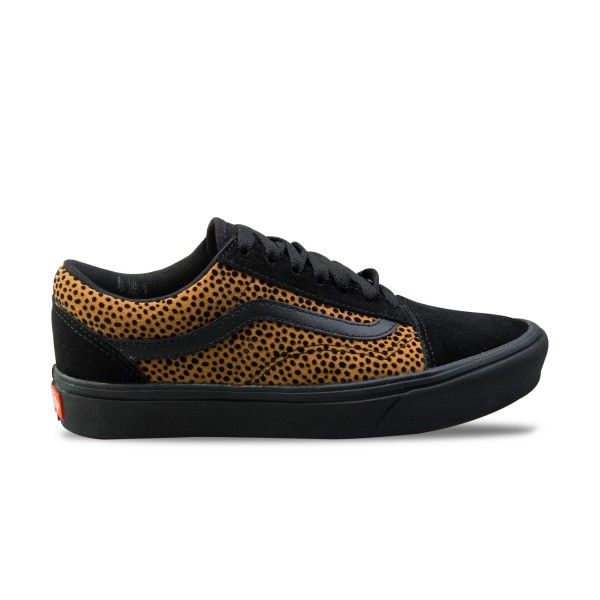 Vans Old Skool ComfyCush TIny Cheetah Black