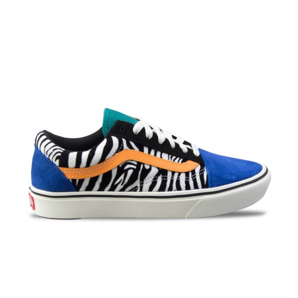 Vans Old Skool ComfyCush Zebra Blue