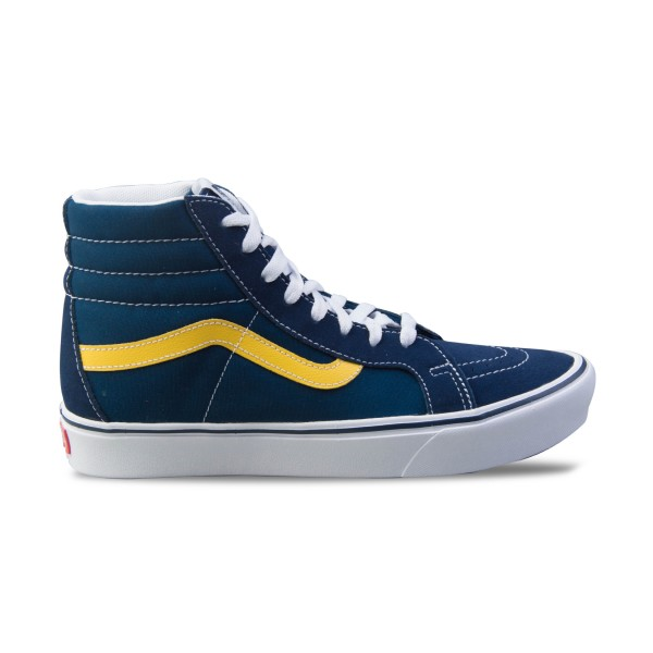 Vans Sk8 Hi ComfyCush Reissue Sport Blue - Yellow