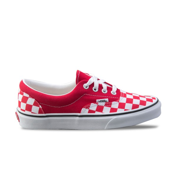 Vans Era Checkerboard Red