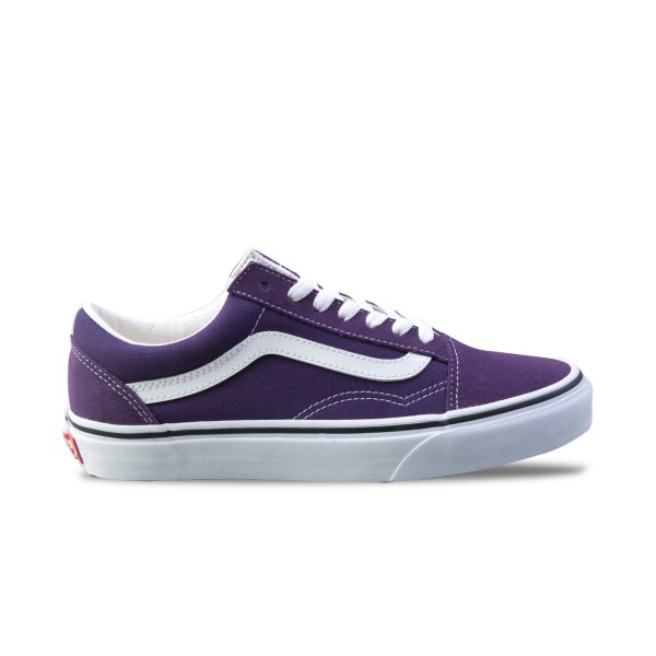 Vans Old Skool Purple - White