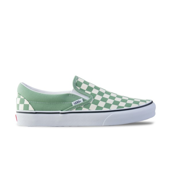 Vans Classic Slip-On Checkerboard Black - Green